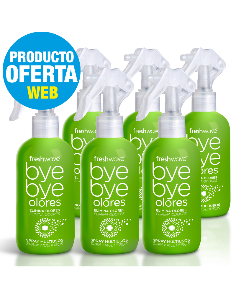 Lote 6 Sprays freshwave® 250ml