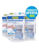 Lote HUMYDRY® 3 Perchas Antihumedad