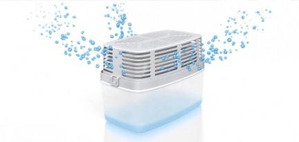 Proceso de absorción de humedad